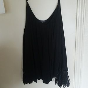 3x black cold shoulder blouse